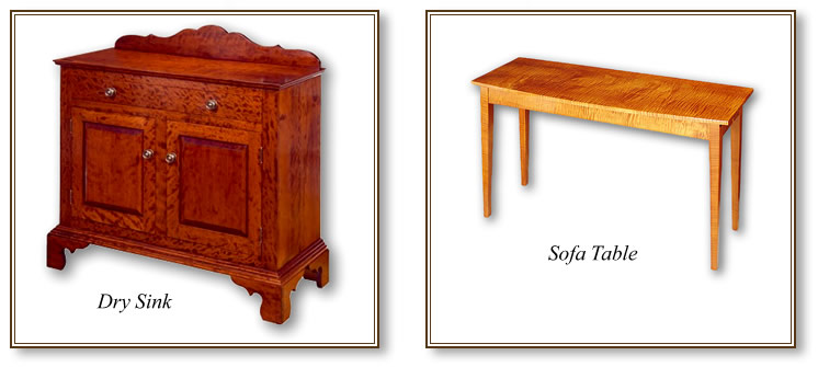 Dry Sink & Sofa Table