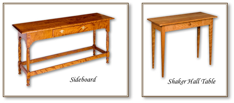 Sideboard & Shaker Hall Table